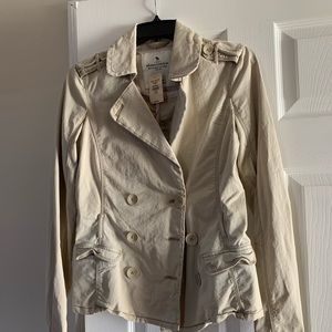 Girls Double Breasted Blazer